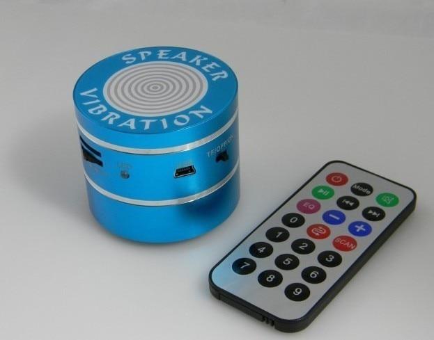 10W Bluetooth Vibration Speaker Portable Vibro Vibra Vibe Resonace Speaker +FM Radio+Micro SD Card+Remote Control+Free Shipping