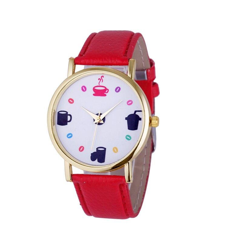 Excellent Quality Fashion Ladies Watches Women Alloy Case Ladies Watch Leather Quartz Watch Relogio Feminino Clock Relojes Mujer