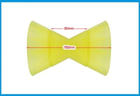 final amarelo poli uretano arco rolo parar