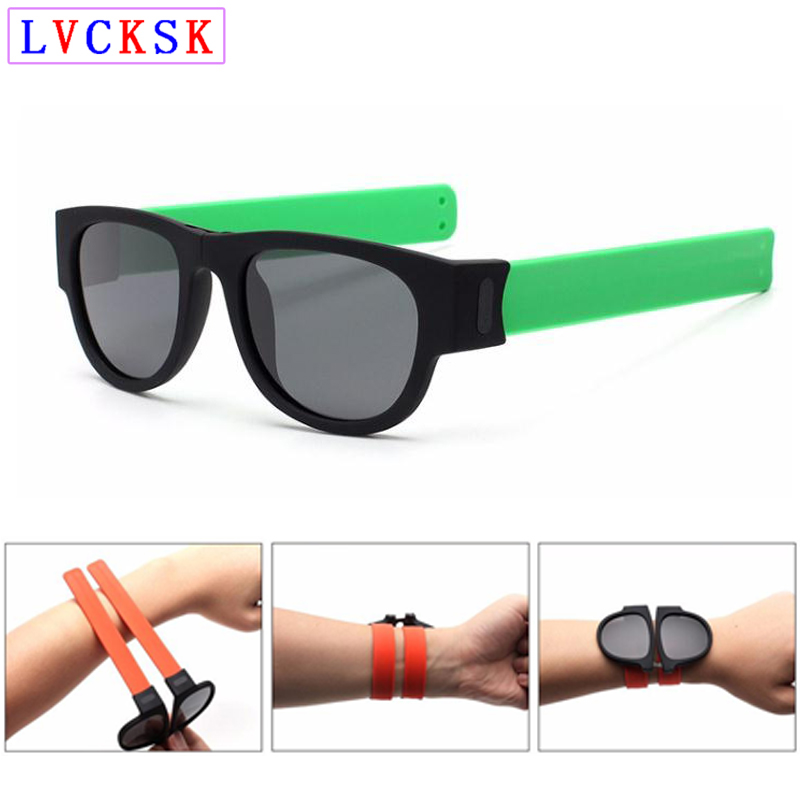 New Fashion Polarized Sunglasses Women Men Soft Portable Folding Silicone Shade Sun Glasses Cool Wrist Eyeglasses Gafas UV400 A3 in Women 39 s Sunglasses from Apparel Accessories