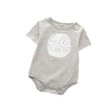hot deal buy jxysy 4 pcs/lot baby bodysuits original infant jumpsuits autumn 0-12m baby jumpsuit 100%cotton baby clothing infant sets