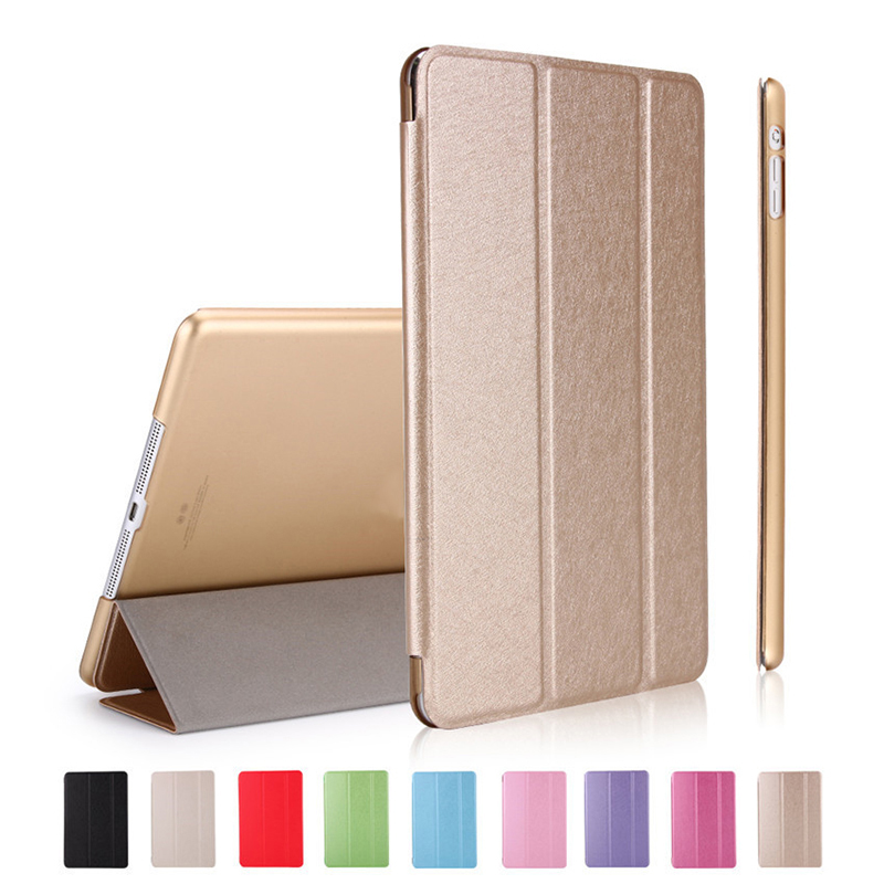 For iPad Air 2 Air 1 Case 2018 9.7 inch Silicone Soft Back Cover 2017 PU Leather Smart Case for iPad 2018 6th Generation Cases