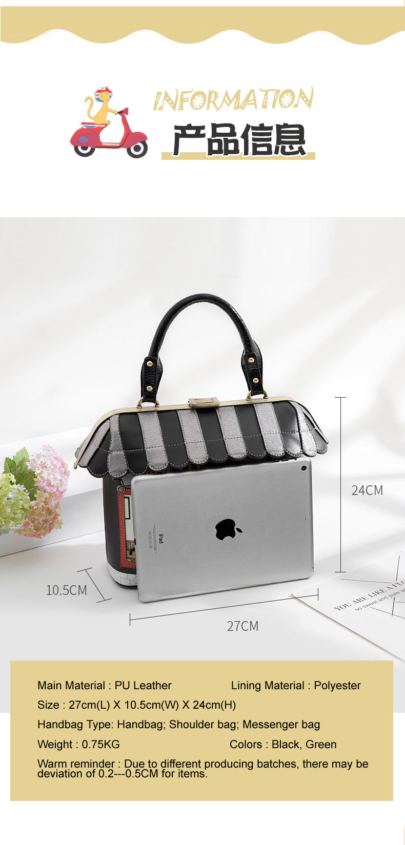 Braccialini Handbag Style