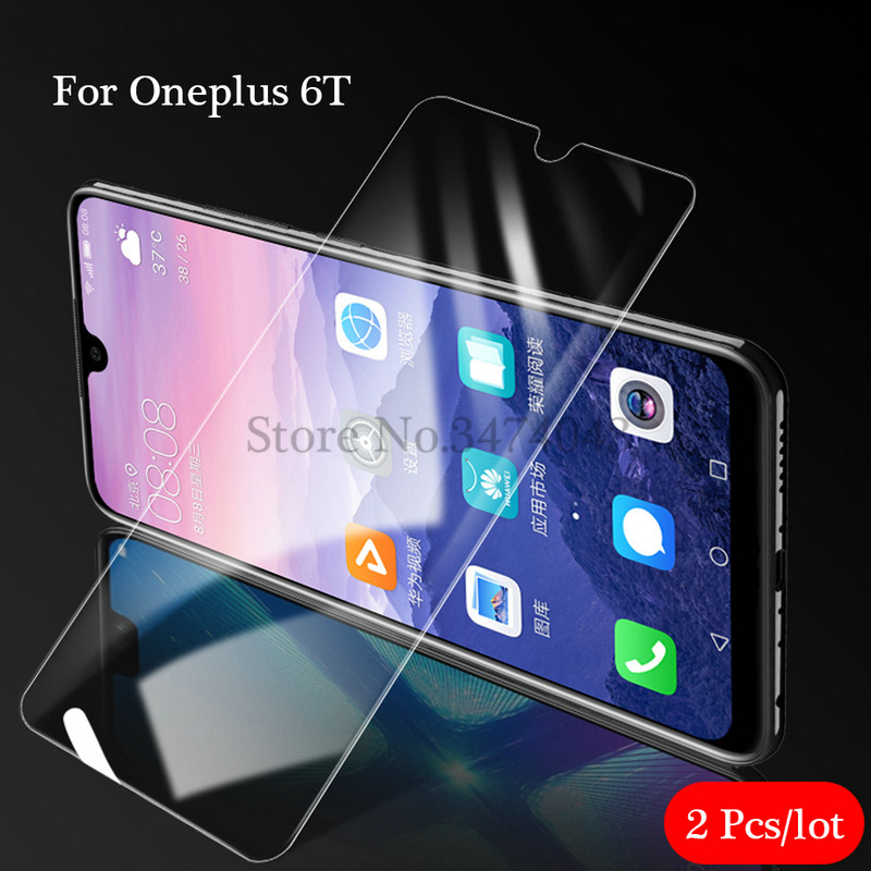 Image 5 - 2Pcs/lot 9H Tempered Glass for Oneplus 6 6T Screen Protector Full Cover Glass For Oneplus 6 T 6T Oneplus6 Protective Film Glass-in Phone Screen Protectors from Cellphones & Telecommunications on