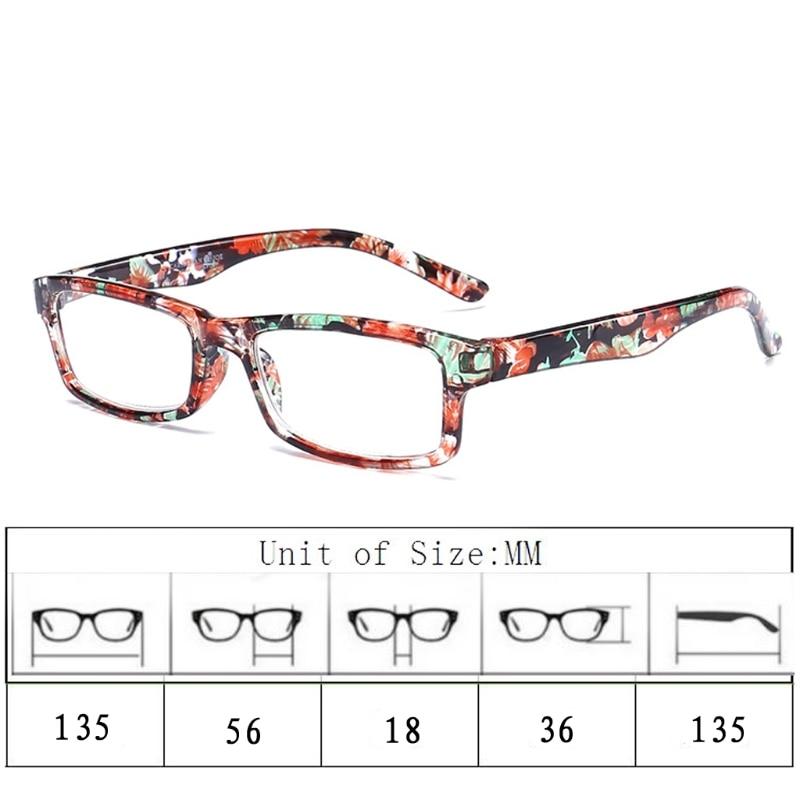 Begeistert Männer Platz Lesebrille Frauen Anti Müdigkeit Transparent Brillen Mode Kleinen Rahmen Lesen-gläser Unzerbrechlich W515 Gut FüR Antipyretika Und Hals-Schnuller Lesebrillen
