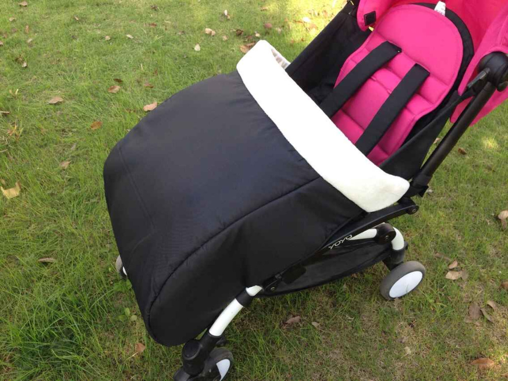 Thicken Windproof Feet Cover Light Folding Shock Absorbers for Baby Stroller aiqi Accessories European Baby Strollers lightweight strollers aiqi ultra light white frame good quality baby stroller baby umbrellacar boarding stroller accessories