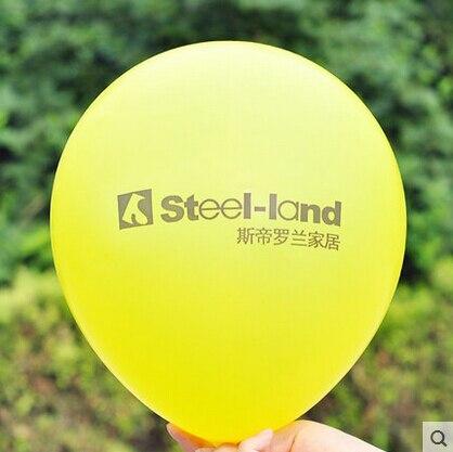 "1000pcs 12 ""2.8g หนาโลโก้ที่กำหนดเองบอลลูน latex ballon บริษัทส่งเสริมการขายส่วนบุคคล globos พิมพ์ของเล่นบอลลูนโลโก้พิมพ์-ใน ลูกโป่งและเครื่องประดับ จาก บ้านและสวน บน   3"