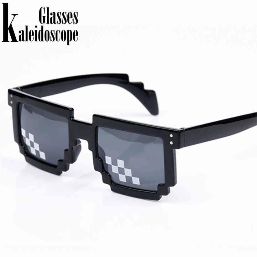 807b8b8871 Caleidoscopio gafas Thug life mosaico Pixel gafas todo el mundo 8 bits Deal  With It gafas