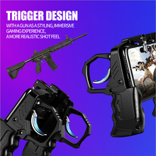 Metal Button Auxiliary Game Controller Handle Trigger PUBG Mobile Joystick Turnover Gamepad for iPhone Xiaomi