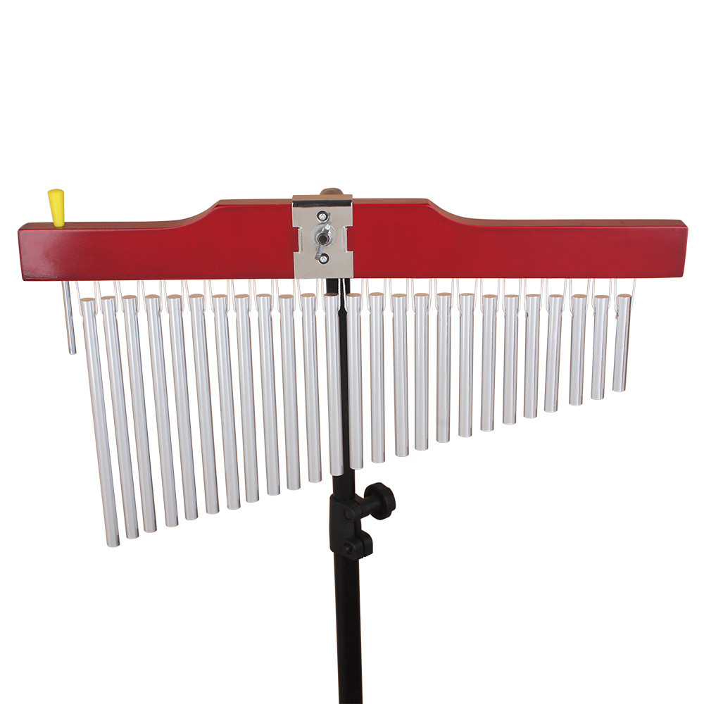 25 Tone Bar Pipe Chimes Musical Percussion Instrument For Enhancing Choir Music