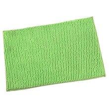 Decoración del hogar chenille carpet mats felpudo alfombras de baño cocina baño esteras absorbentes alfombra antideslizante 40 * 60-fruit verde