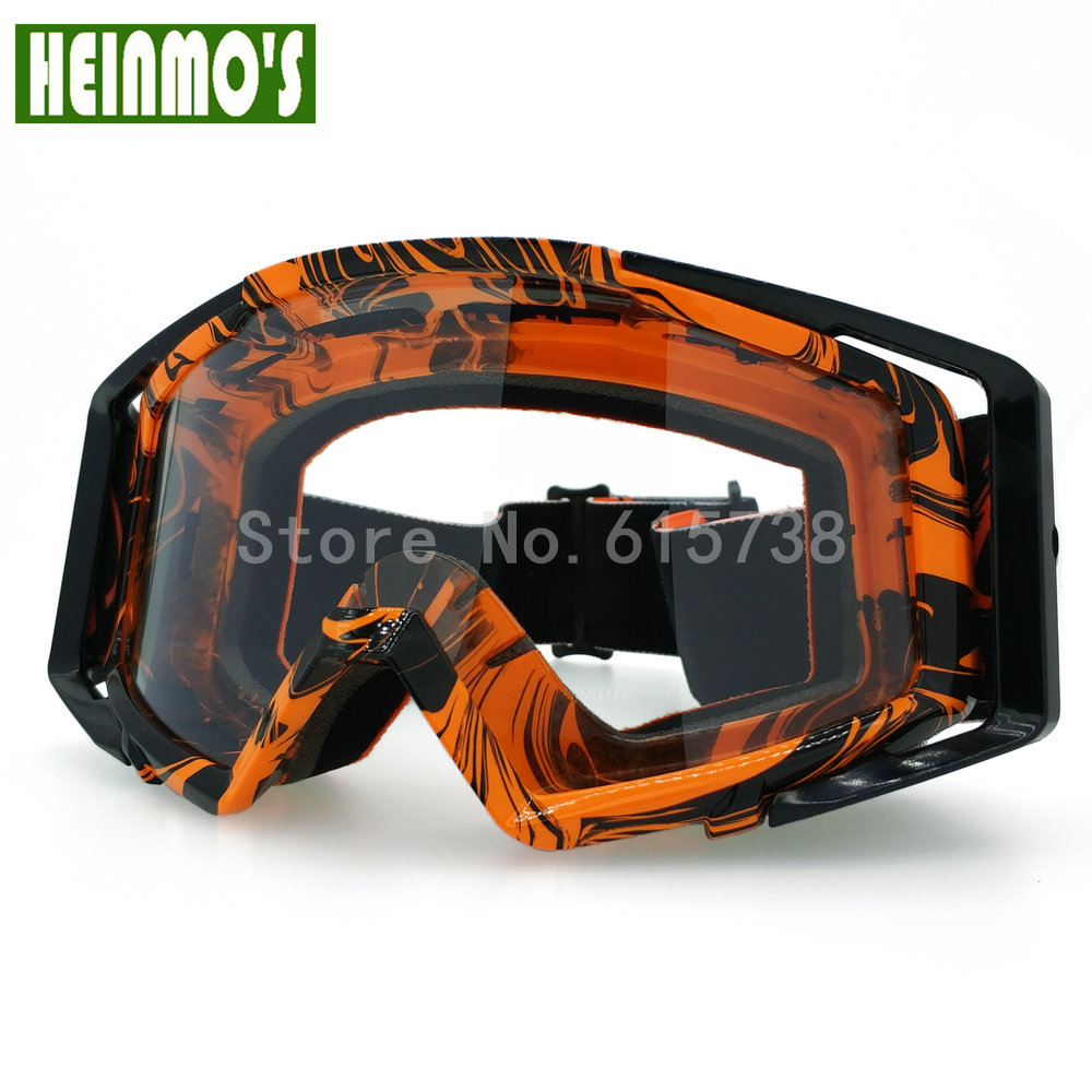New Motorcycle Flexible Goggles Sport Racing Off Road Oculos Gafas Motocross Cycling Glasses for KTM duke 125 200 390 Dirt Bike