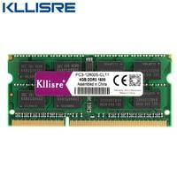 Kllisre DDR3 Laptop 4GB 1333 1600 MHz Memoria Ram Notebook Memory