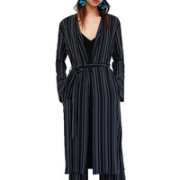 2018 Summer Top Casual Stripe Womens Clothing Kimono Shirt Women Long Sleeve Blouse Deep V Neck