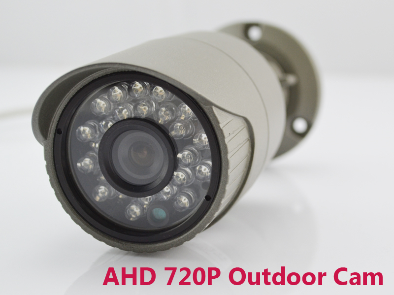 ФОТО AHD camera 720p outdoor indoor bullet infrared IR leds hd 1mp analog day night security surveillance cctv cameras with bracket