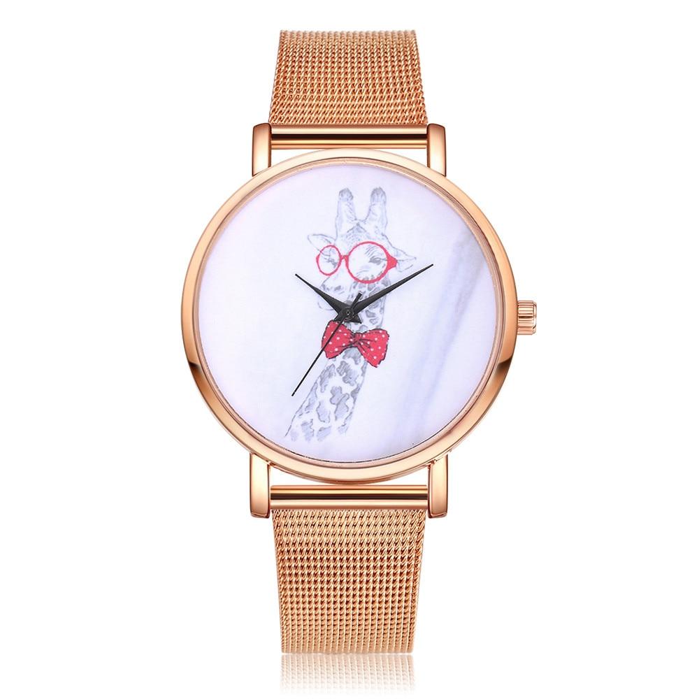 New Arrival Rosefield Watches Women Lvpai Women's Casual Quartz Mesh Belt Watch Analog Wrist Watch11.21