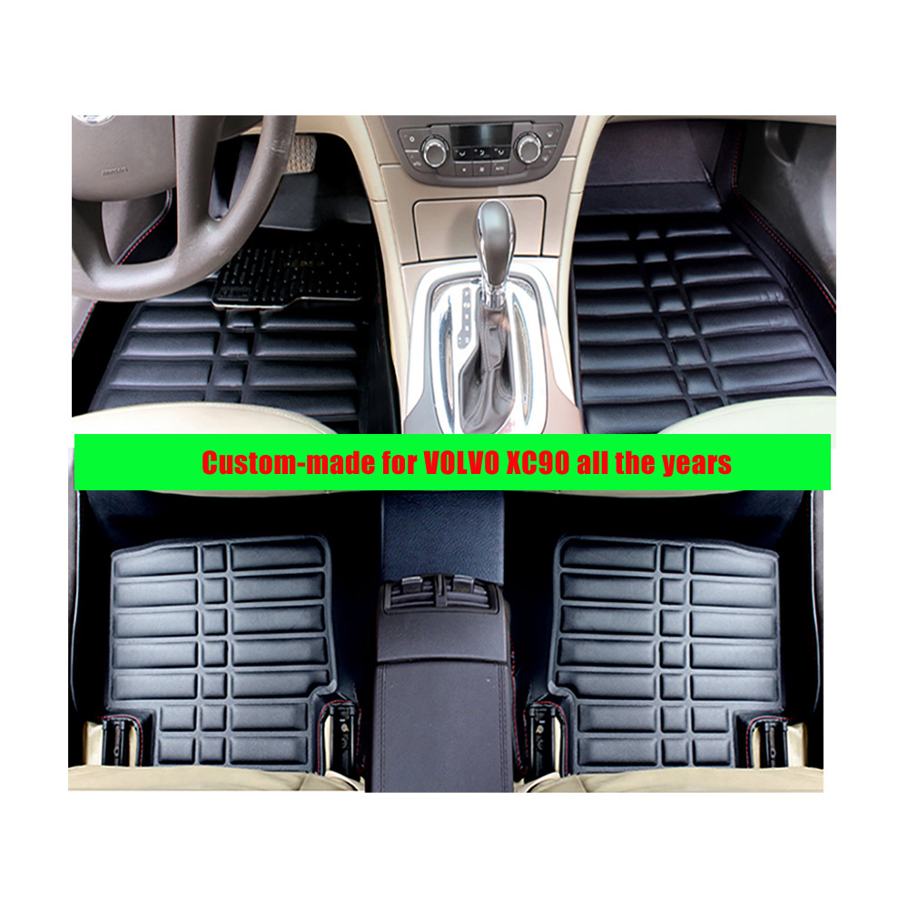 Floor mats xc90 - For Volvo Xc90 All The Years Left Hand Drive Fly5d Car Floor Mats Front Amp Rear