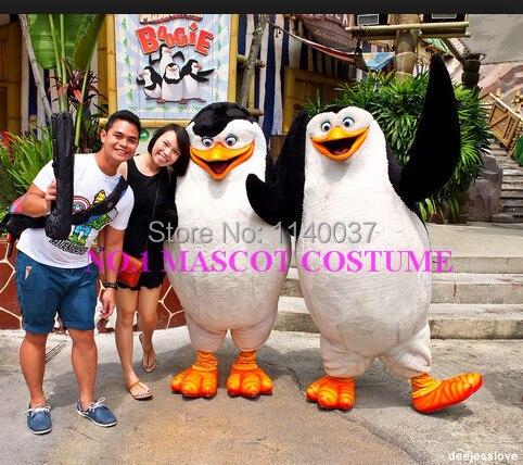 Талисман Пингвины талисмана 2 Пингвины аниме герой мультфильма косплей-шоу карнавальный костюм нарядное платье