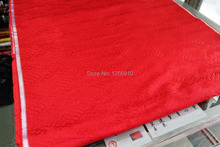 chinese traditional silk brocade fabric red nature color wave pattern doll cloth clothing cosplay Tapestry satin