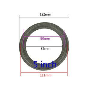 Image 2 - GHXAMP 2 sztuk głośnik pianki naprawy składane krawędzi pierścień głośnik Subwoofer akcesoria do naprawy DIY 5 cal 6.5 cal 8 cal 10 12 cal