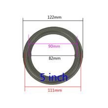 GHXAMP 2PCS Speaker Foam Repair Folding Edge Ring Subwoofer Speaker Repair Accessories DIY 5 INCH 6.5INCH 8 INCH 10 12 INCH