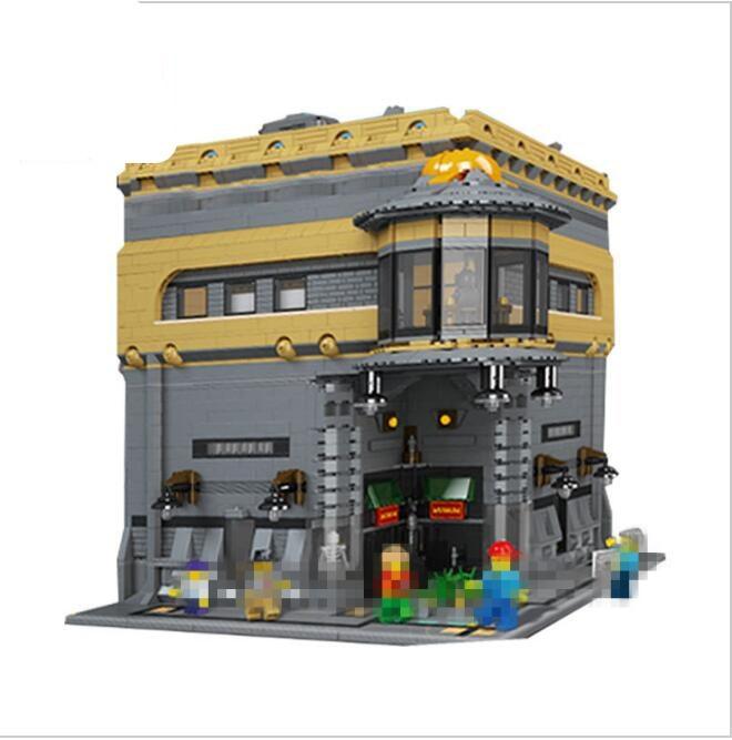 Lis 15015 5003pcs City Creator The dinosaur museum Model Building Kits Blocks Bricks Compatible LepinINGLYS Toys Gift movado museum classic 0606503