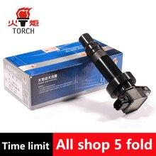 (TORCH) Ignition Coil OEM NO:27300-2B010/273012-B1010/27301-2B010/ DQG1276 for Hyundai Kia Motor 10-11 Kia Soul 1.6L OEM Quality