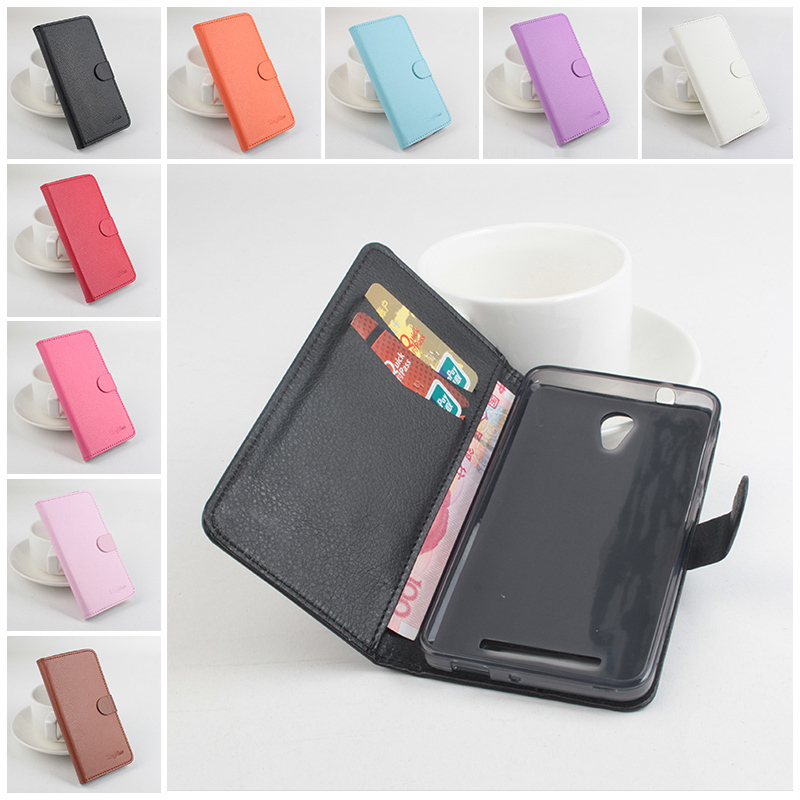 X002/X003 luxury Left Right Flip 2 card slots with cover Wallet Leather case For ASUS X002 X003 Smartphone 9 color in stock