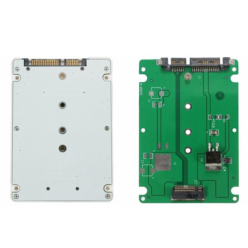 M.2 NGFF SATA SSD в 2.5 SATA3 адаптер с Чехол Белый для Lenovo E431 E531 x240s y410p y510p ...