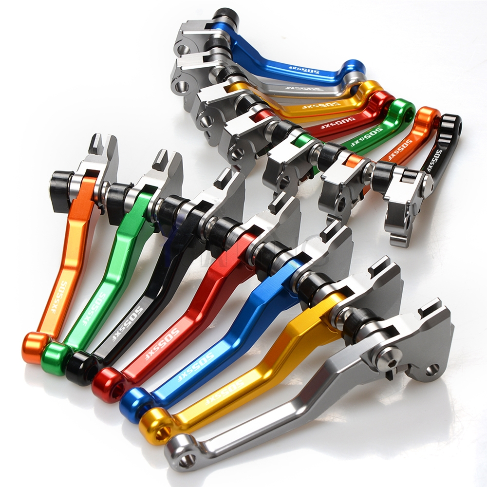 8 Colores  cnc  Clutch Levers Clutch Brake Motorcycle  For dirt bike   Ajustable NUEVO2007-2010 2010-2017