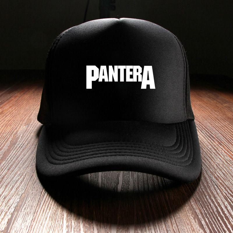 Prix pour Nouveau 2017 Unisexe D'été Chapeaux D'hiver Pour Femmes Personnalisé Imprimé Pantera Rock Band Snapback Baseball Caps Hommes Hip Hop Punk marque