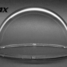 JMX 3,1 дюймовый акриловый внутренний/Открытый CCTV прозрачный корпус для купольной камеры безопасности купольная камера корпус