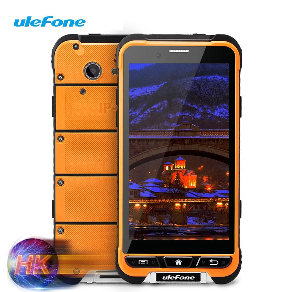 Цена за Новый Arrivial Ulefone Броня Водонепроницаемый Смартфон 4 Г LTE MTK6753 Octa Ядро 3 Г + 32 Г 13MP Противоударный 3500 мАч WCDMA 3 Г Android 6.0