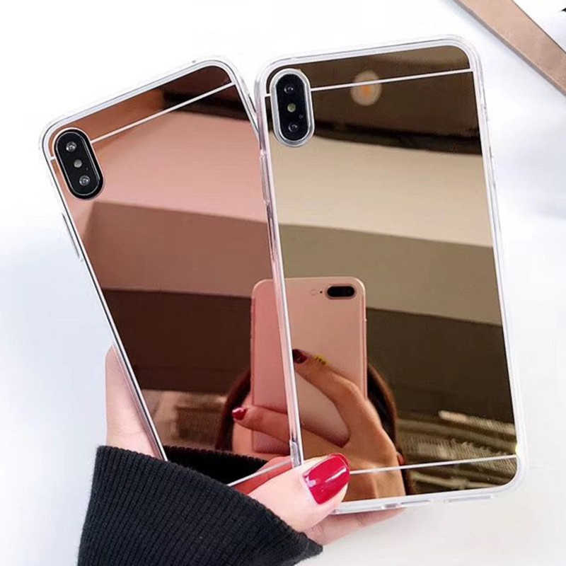 Fashion Luxury Rose Gold Mirror Case For Xiaomi Redmi Note 5A shell Back Cover For Redmi Note 5A Pro Prime note 3 4 redmi 5 plus