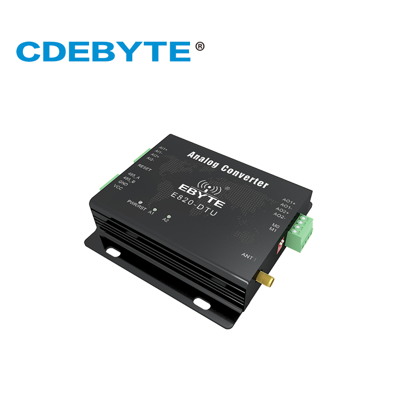 Image 4 - E820 DTU(2I2 433L) 433MHz Modbus Analog Acquisition 2 Channel Wireless Transceiver 1W RS485 Interface 433 mhz RF Module-in Communications Parts from Cellphones & Telecommunications