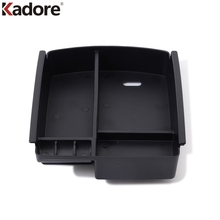 For Kia Sportage 2016 2017 4TH GE Central Armrest Glove Storage Box Cover Organizer Container Plastic Car Interior Accessories