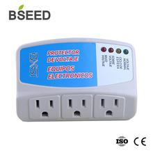 BSEED PC Series Power Protector US Standard Socket White Home Appliance Surge Voltage 50 Hz-60 Hz Wall