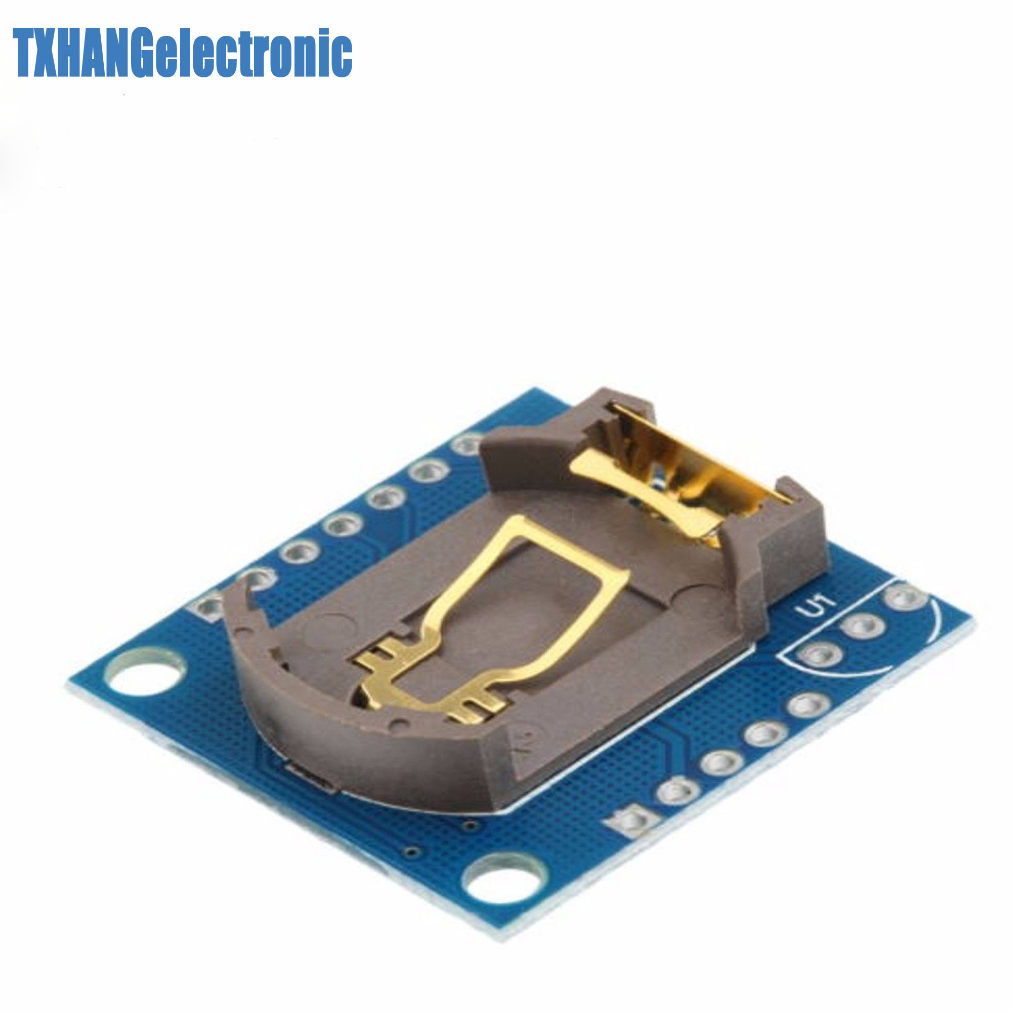 5 stücke I2C RTC DS1307 AT24C32 <font><b>Real</b></font> Time <font><b>Clock</b></font> Modul Für ARM AVR PIC SMD image