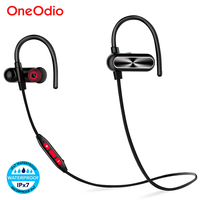 Oneodio Sport Bluetooth Headset Waterproof Running Stereo Mini Earbuds Headphone With Microphone Wireless Bluetooth 4.1 Earphone original xiaomi sport bluetooth earphone wireless sport stereo headphones with microphone ip6 waterproof bluetooth 4 1 headset
