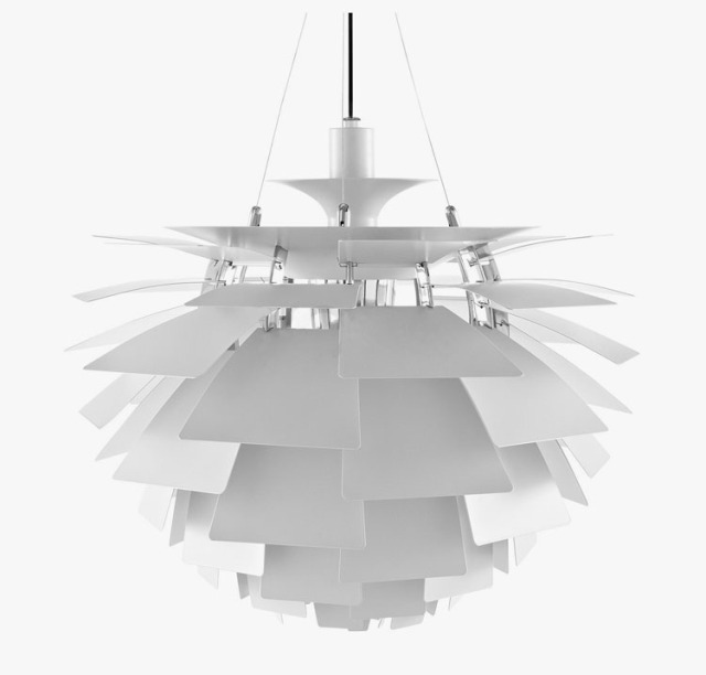 Width 72cm modern chandelier light louis poulsen ph artichoke suspension light guaranteed 100 free