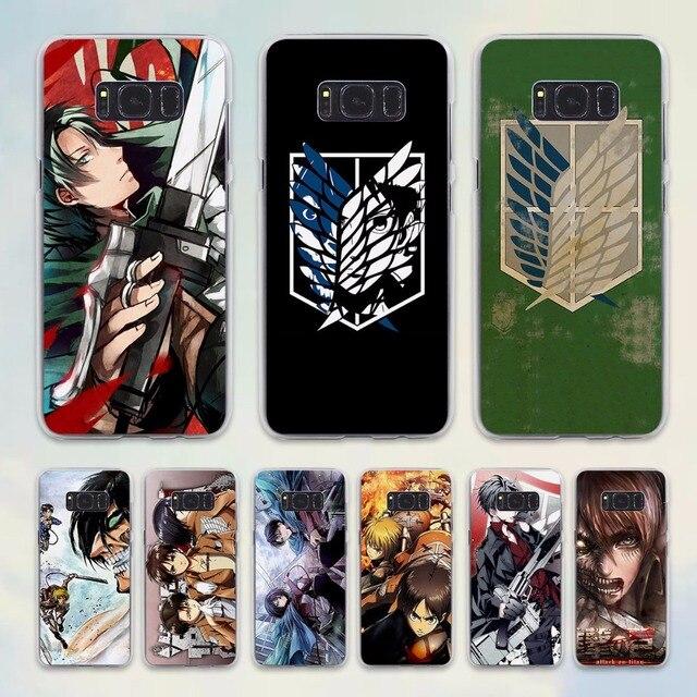 attack on titan phone case samsung s6