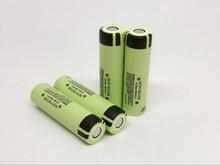 4pcs/lot New Original Panasonic 18650 NCR18650B Rechargeable Battery 3.6V 3400mAh Li-Ion Batteries For panasonic laptop
