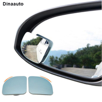 Universal HD Car Blind Spot Mirror Wide Angle Convex Mirror for Parking Auxiliary Rear view mirror Fan Shape 10pcs