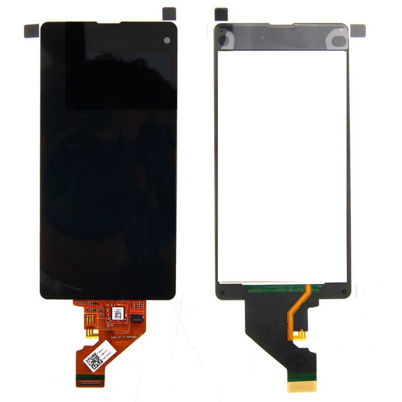 Free Shipping LCD Display Screen Touch Digitizer Glass Lens Assembly For Sony Xperia Z1 Compact Z1 Mini M51w D5503 dhl 10pcs 2015 new lcd display touch screen digitizer assembly with frame for sony xperia z1 mini d5503 z1c m51w free shipping
