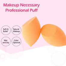 TOP 1pc Big Sponge Makeup Blender Foundation Puff Beauty Egg Smooth Flawless Powder Cosmestic Tool Beauty 2 Colors for Choose