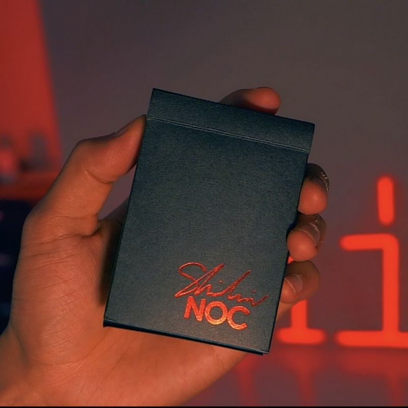 Limited Edition Noc X Shin Lim Playing Cards Poker Playing Cards Cardistry Magic Props