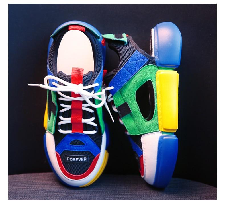 Femme La Casual 1 Coréenne forme Dames Harajuku Version Sandales Romaines Nouvelle Chaussures De Plate 2 2018 wHx8q5tx