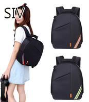 SIV Camera Bag Waterproof DSLR SLR Camera Backpack Large Shoulder Bag Case For Canon