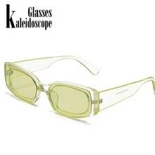 Nuevas gafas de sol clásicas de moda para mujer, gafas de sol Retro de diseñador de marca, gafas de sol rectangulares, gafas de sol femeninas UV400