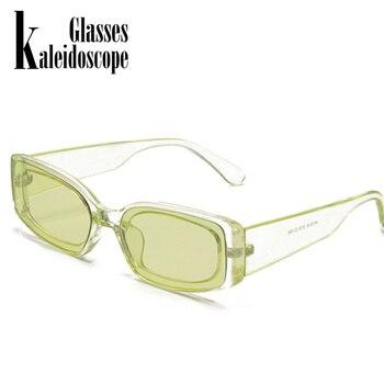 New Fashion Vintage Sunglasses Women Brand Designer Retro Sunglass Rectangle Sun Glasses Female UV400 Lens Eyewears